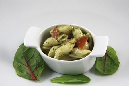 Pates in the pesto Italy