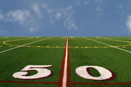 Field at the edge of the earth