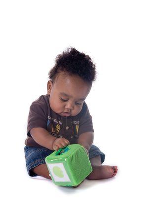 Beautiful baby boy Stock Photo - 3776446
