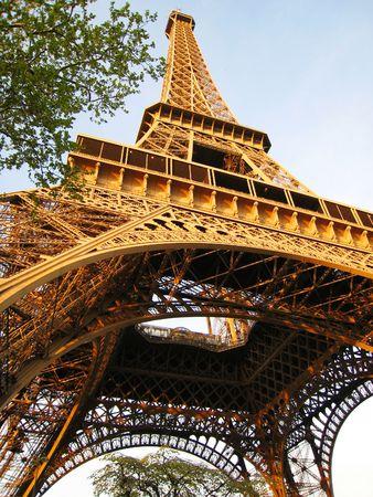 La tour Eiffel Paris Banque d'images