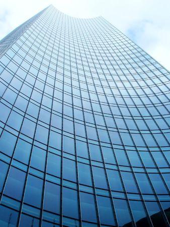 Skyper Francfort en Allemagne Banque d'images
