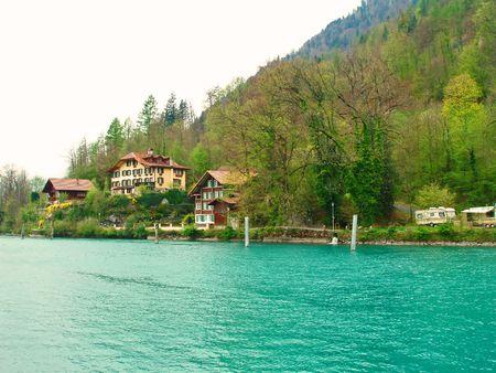 Switzerland Mountain Countryside photo