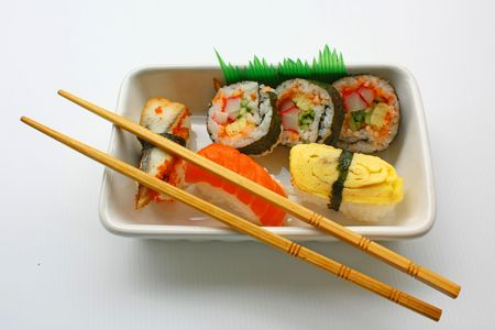 Sushi & Chopsticks