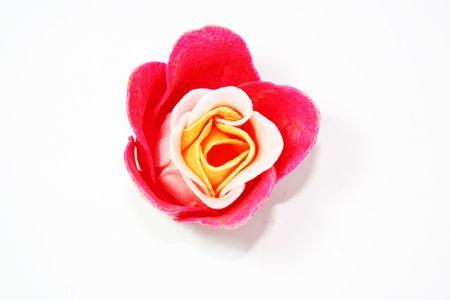 destress: Red Rose Stock Photo