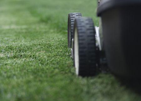 gras maaien: Grasmaaier