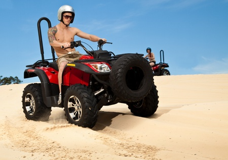 Quad bike Stock Photo - 11414566