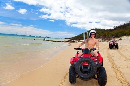 ATV beach Editorial