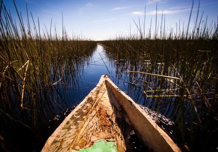 botswana: mokoro