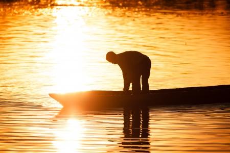 fisherman boat: Fishing