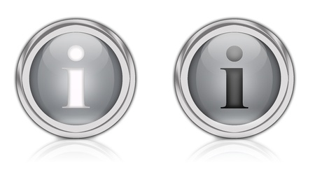 information symbol: A circular icon with an I for information symbol