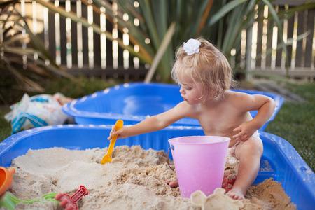 sandpit: sandpit Stock Photo