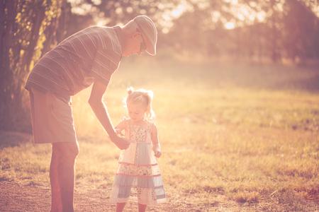 grandchild: Grandfather and grandchild