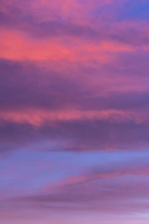 Colorful sunset sky background with reddish colors Archivio Fotografico - 138047120