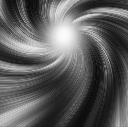 Monochromatic abstract background with spiral shapes in light and dark tones Banco de Imagens