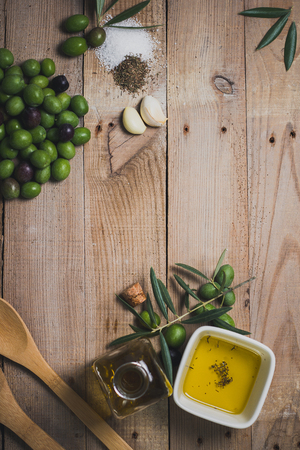 Field products and olive oil