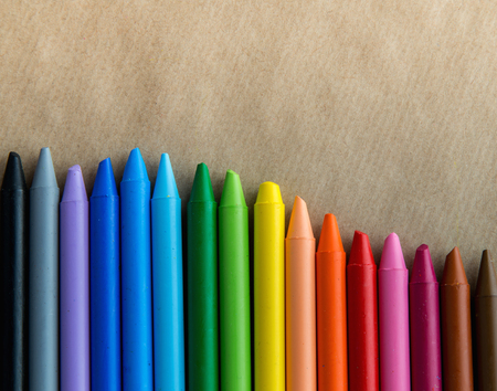crayons with background Imagens