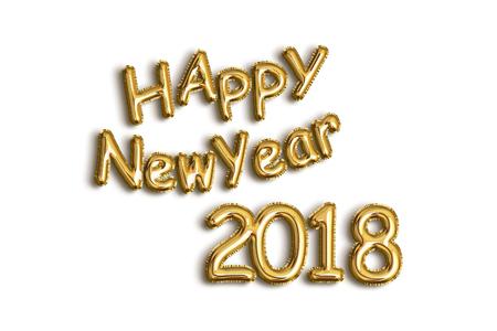 Feliz año nuevo 2018 Foto de archivo - 90852978