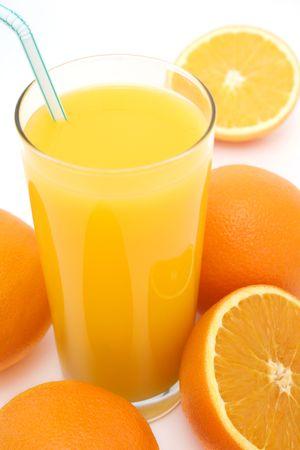 oj: Freshly squeezed orange juice