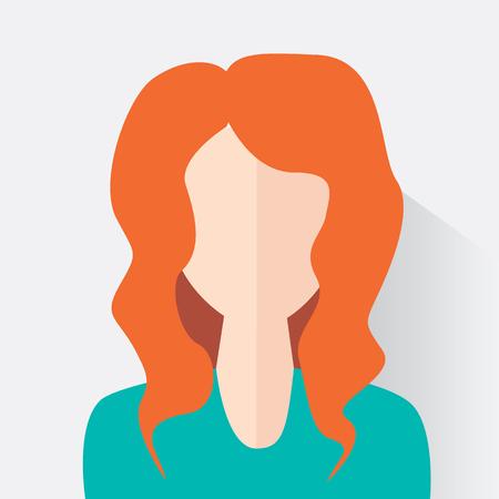 Avatar woman design. Woman icon. Vector illustration