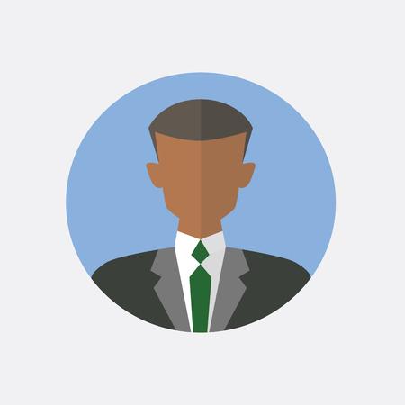 man profile: Avatar men design. Men icon. Vector illustration
