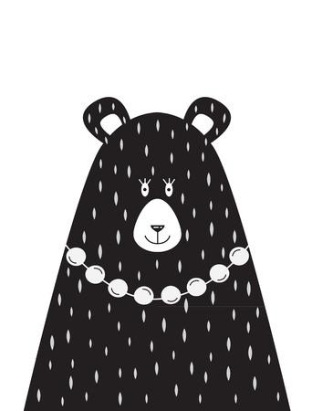 picture of Mama bear Иллюстрация
