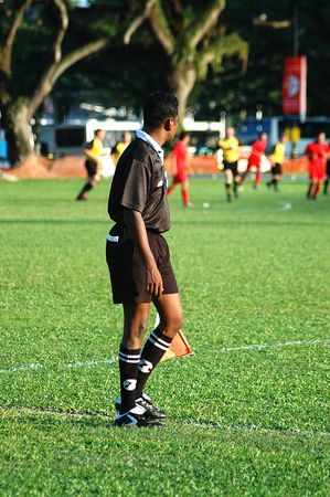 Sports Action - Soccer Linesman 2 photo
