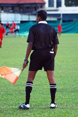 Sports Action - Soccer Linesman photo