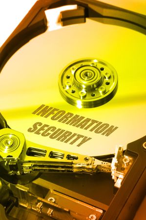 hdd: Infosec HDD Stock Photo