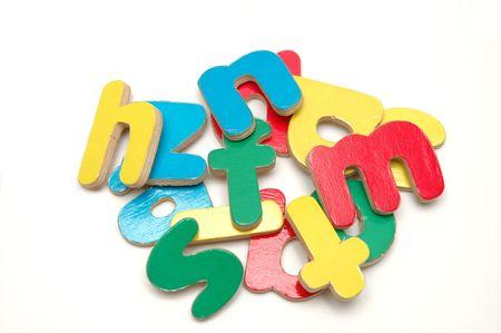 Drewniane Alphabets