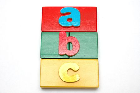 Wooden Blocks and Alphabets 2