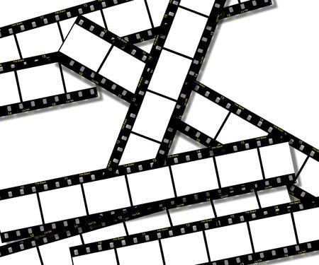 Film Strips Background photo