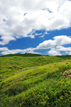 Scenic Countryside Stock Photo