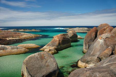 Elephant Rocks in Denmark, Western Australia photo