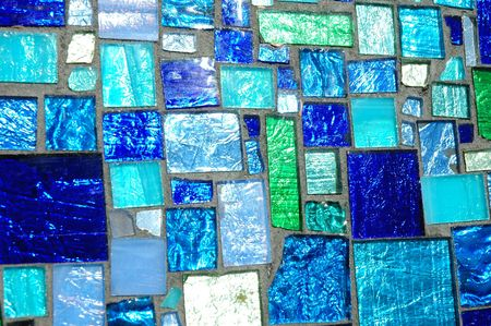 Closeup of a Glass Abstract Work
