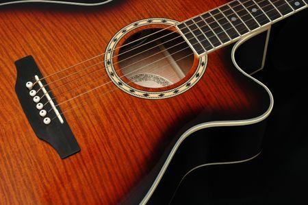 Closeup na gitarę 3