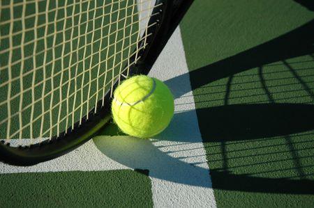raqueta de tenis: Tenis 6  Foto de archivo