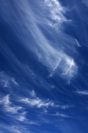 cirrus: Clouds - Cirrus Stock Photo