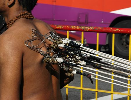 repent: Thaipusam - Man with Hooks