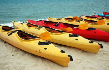 Sports & Adventure - Canoes Banque d'images