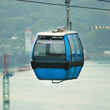 Blue Cable Car, Singapore