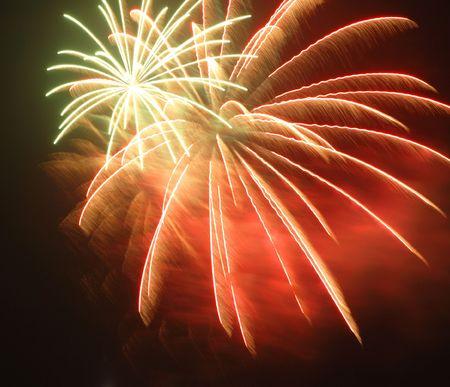 pyrotechnics: Fireworks @ Singapore Chinese New Year Festival