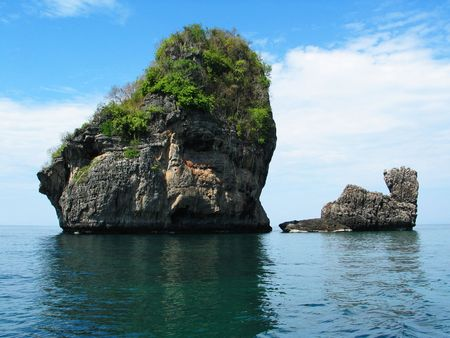 erode: Rock Formation in Thailand