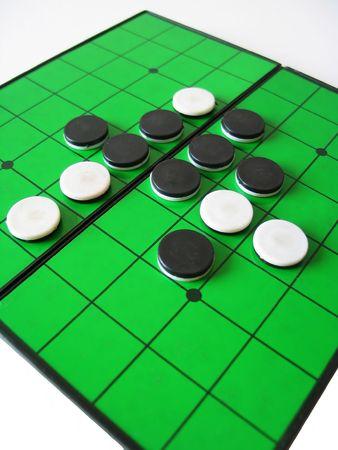 Board Games - Reversi Stock Photo