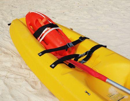 life saving: Life Saving - Buoy & Canoe