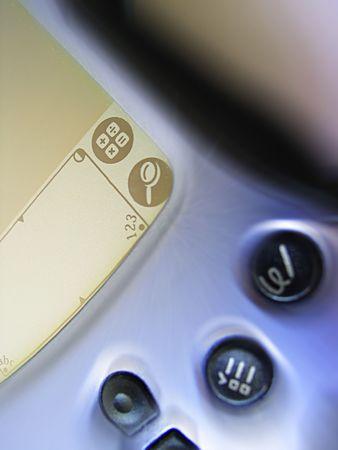 personal digital assistant: PDA - Personal Digital Assistant Stock Photo