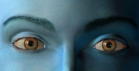 Grafika komputerowa - The Eyes Zdjęcie Seryjne