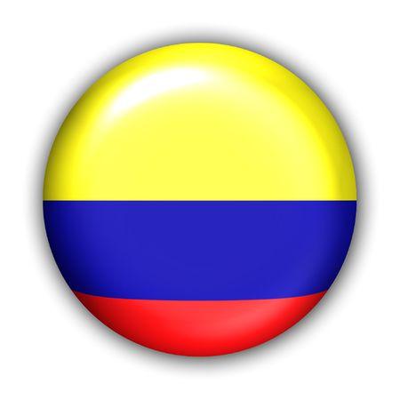 Świat Zgłoś Button Series - Ameryka Południowa - Kolumbia (Z)