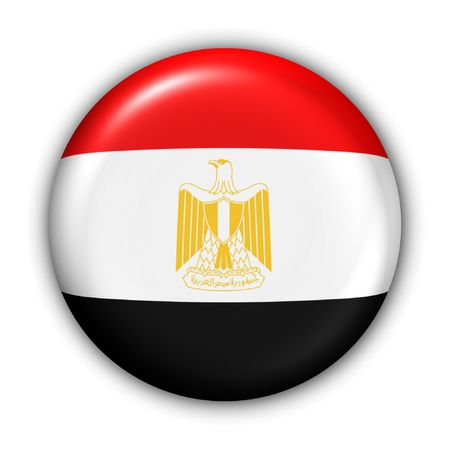 World Flag Button Series - Africa/Middle East - Egypt (With ) Stock Photo - 365483