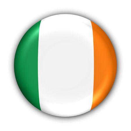 World Flag Button Series - Europe - Ireland (With ) photo