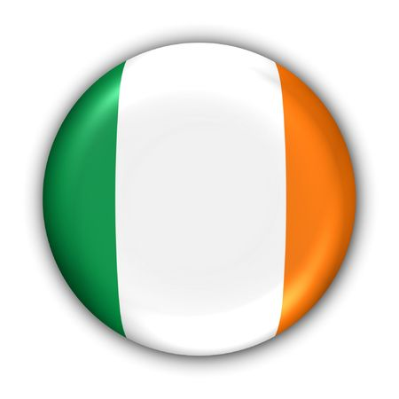 isles: World Flag Button Series - Europe - Ireland (With )